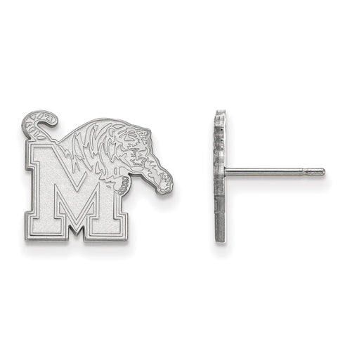 SS University of Memphis Small Tigers Post Earrings