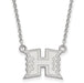 14kw The University of Hawaii Small Pendant w/Necklace
