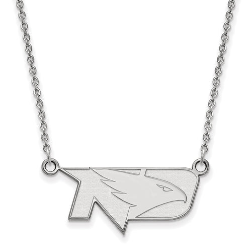 SS Univ of North Dakota Small Fighting Hawks Pendant w/Necklace