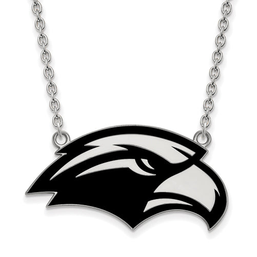 SS U of Southern Miss Large Enamel Pendant w/Necklace