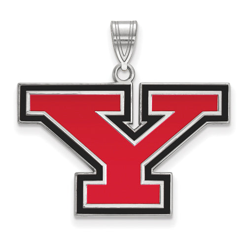 SS Youngstown State University Large Enamel Pendant