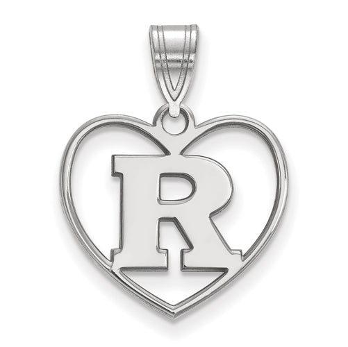 SS Rutgers Pendant in Heart