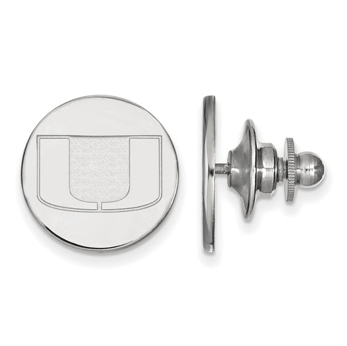 SS University of Miami Lapel Pin