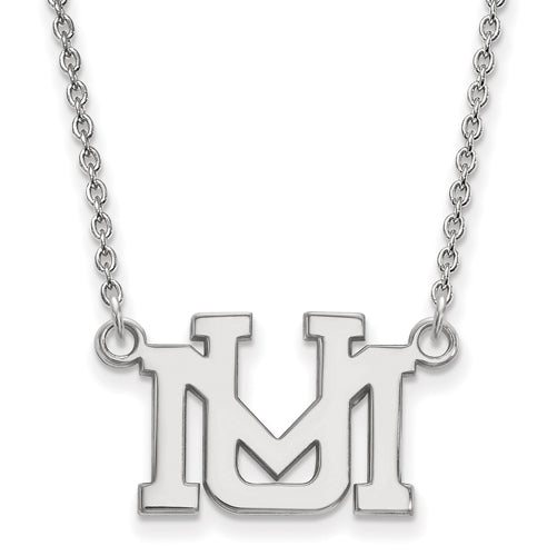 SS University of Montana Small Pendant w/Necklace