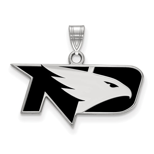 SS University of North Dakota Small Enamel Fighting Hawks Pendant