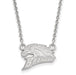SS Western Michigan U Small Broncos Pendant w/Necklace