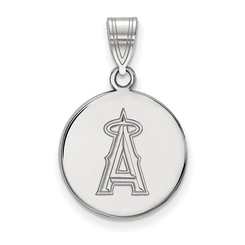 SS MLB  Los Angeles Angels Medium Disc Pendant