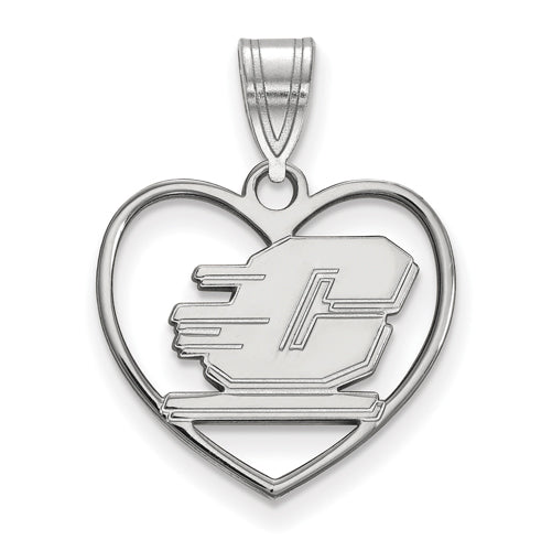 SS Central Michigan University Pendant in Heart