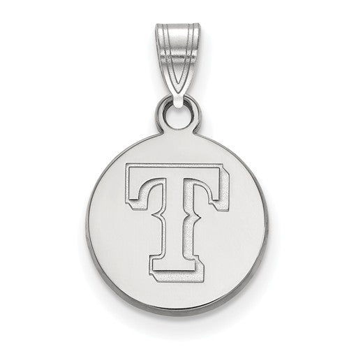 SS MLB  Texas Rangers Small Disc Pendant