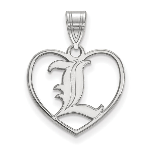 SS University of Louisville Pendant in Heart