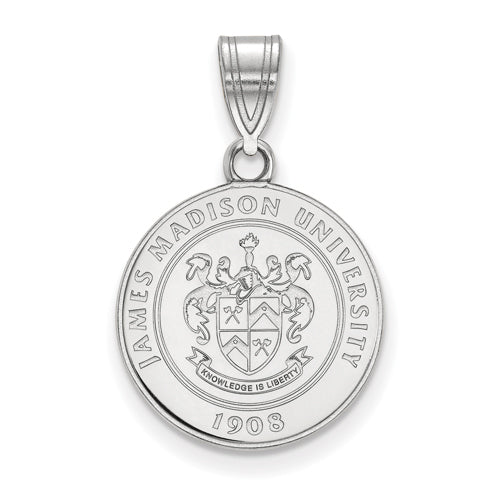 SS James Madison University Medium Crest Pendant