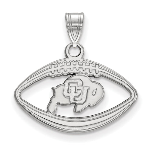 SS University of Colorado Buffalo Pendant in Football