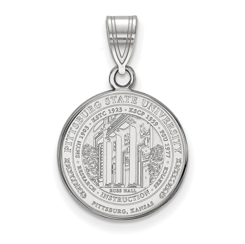 SS Pittsburg State University Medium Crest Pendant