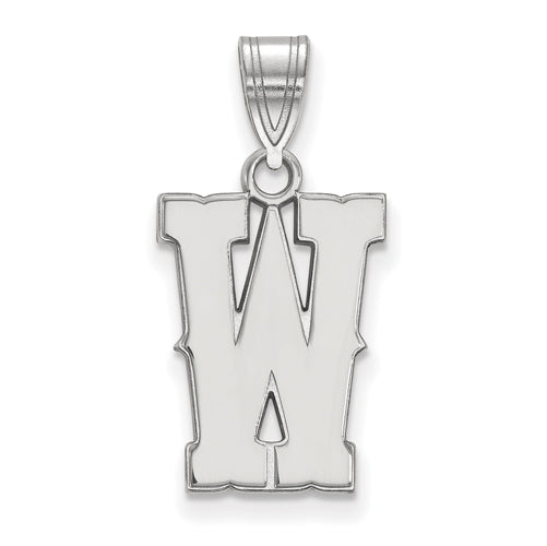 SS The University of Wyoming Medium W Pendant