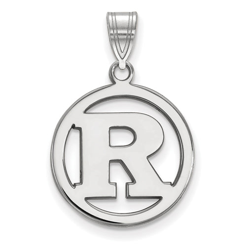 SS Rutgers Med Pendant in Circle