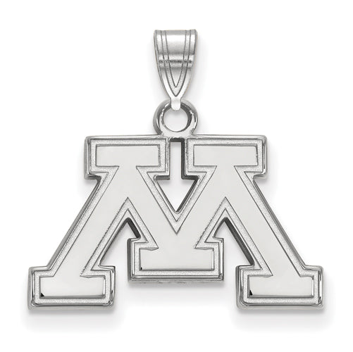SS University of Minnesota Small Inset Logo Pendant