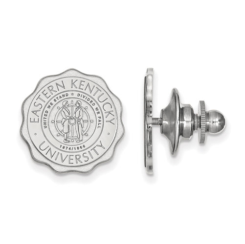 SS Eastern Kentucky University Crest Lapel Pin