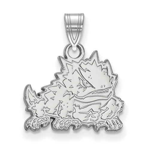 SS Texas Christian University Small Athletic Frog Pendant