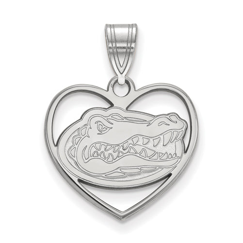 SS University of Florida Pendant in Heart
