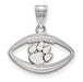 SS Clemson University Pendant in Football