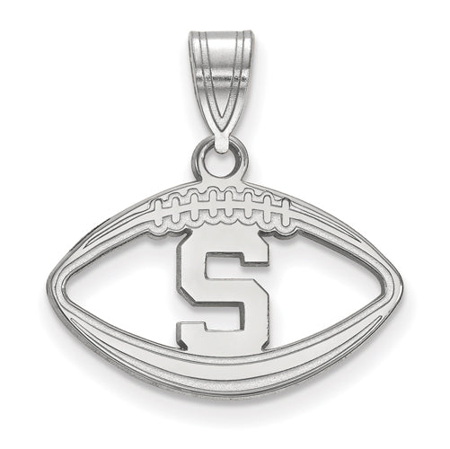 SS Michigan State University Pendant in Football