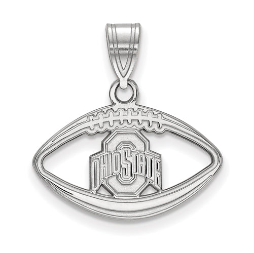 SS Ohio State U Buckeyes Logo Pendant in Football