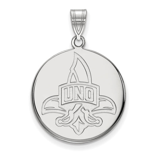 SS University of New Orleans Large Disc Logo with UNO Pendant