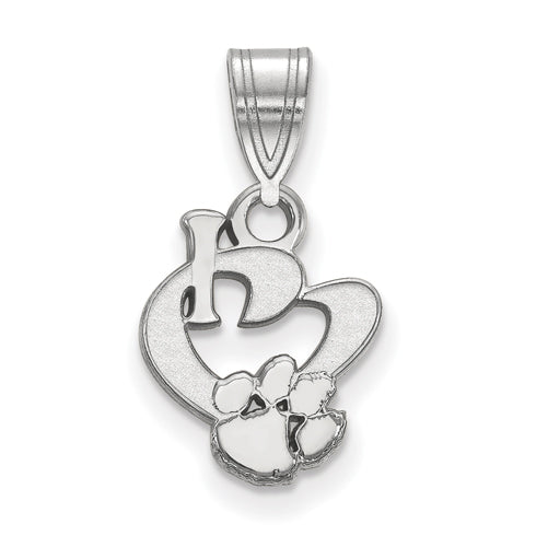 SS Clemson University Small I Love Logo Pendant