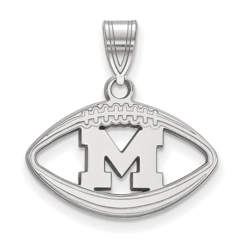 SS University of Michigan Pendant in Football