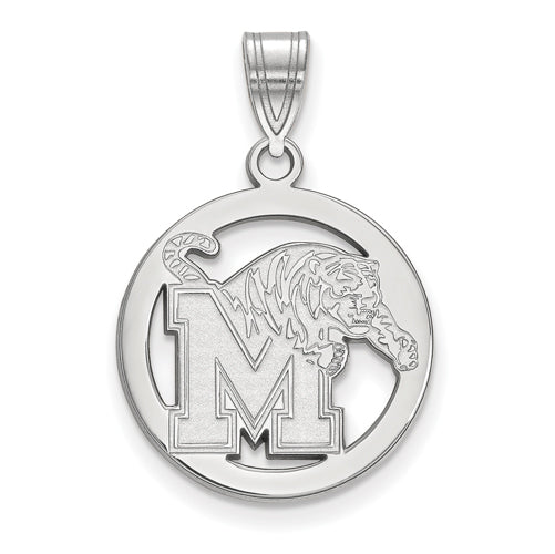 SS University of Memphis Med Pendant in Circle