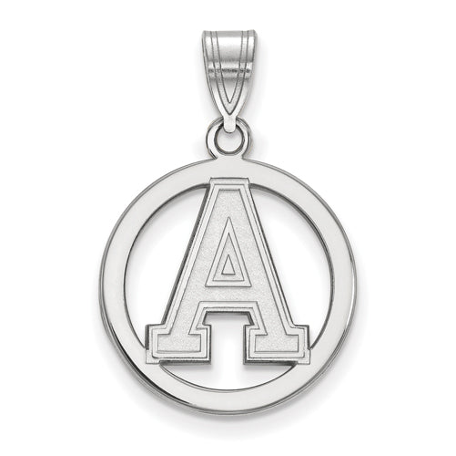 SS U.S. Military Academy Med Pendant in Circle