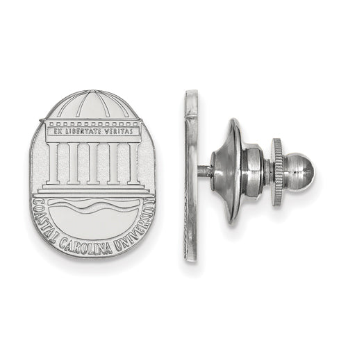 SS Coastal Carolina University Crest Lapel Pin