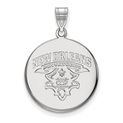 SS University of New Orleans Large Disc Pendant