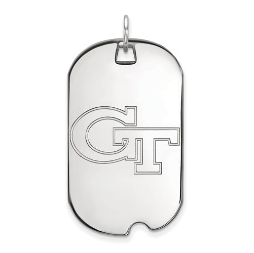 14kw Georgia Institute of Technology Large Dog Tag