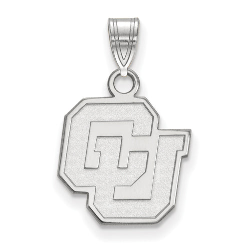 SS University of Colorado Small Pendant