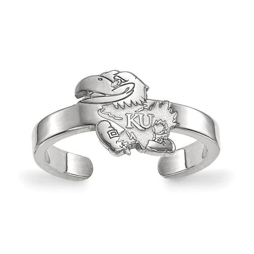 SS University of Kansas Toe Ring