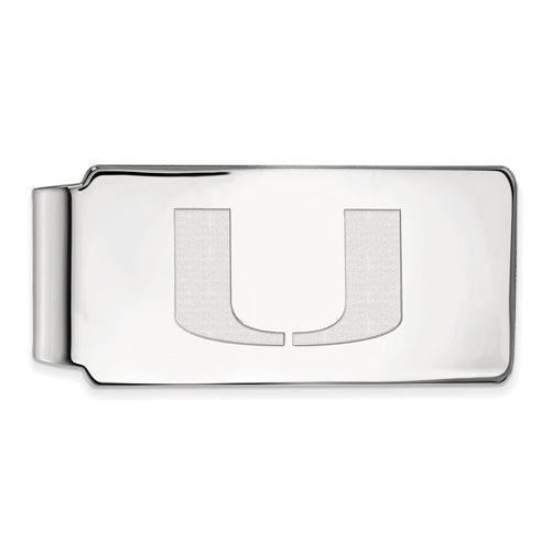 SS University of Miami Money Clip