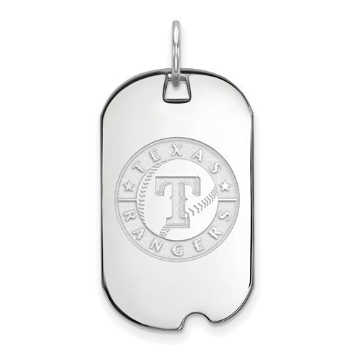 SS  Texas Rangers Small Dog Tag