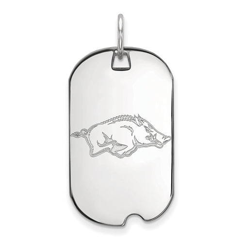 SS University of Arkansas Small Dog Tag