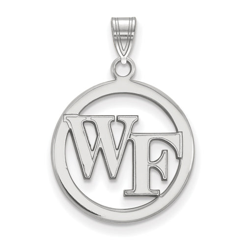 SS Wake Forest University Sm Pendant in Circle