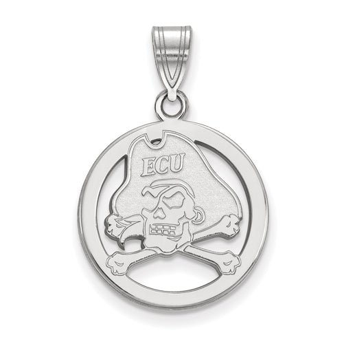 SS East Carolina University Sm Pendant in Circle
