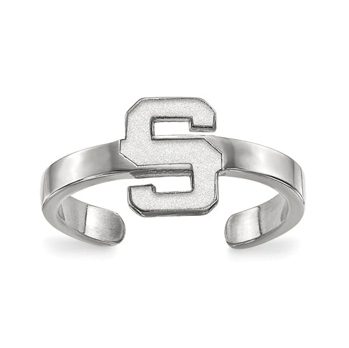 SS Michigan State University Toe Ring