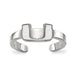 SS University of Miami Toe Ring