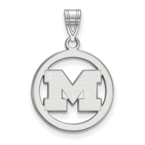 SS University of Michigan Med Pendant in Circle