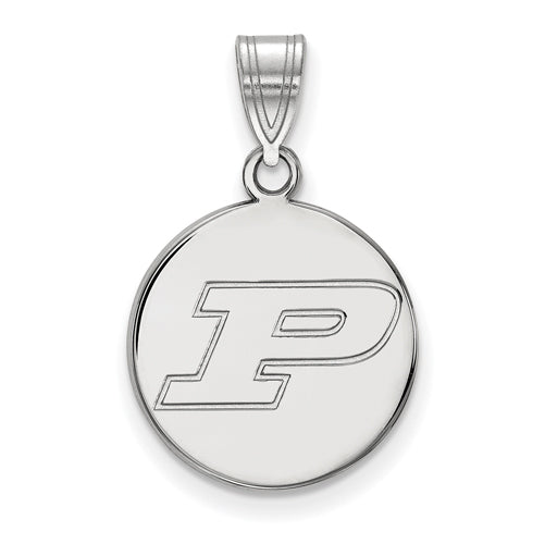SS Purdue Medium Disc Pendant