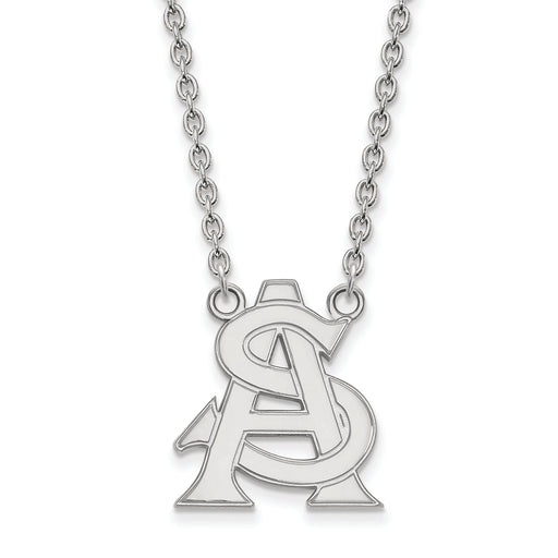 10kw LogoArt Arizona State University Large Pendant w/Necklace