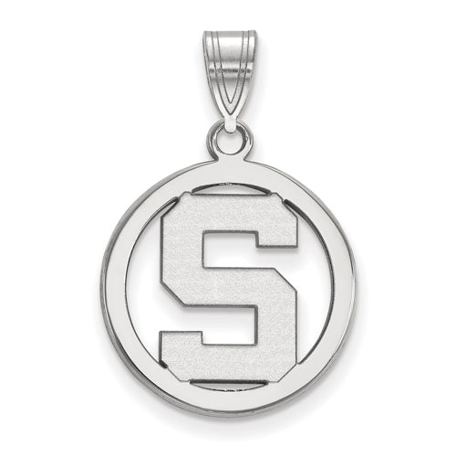 SS Michigan State University Sm Pendant in Circle