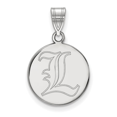 SS University of Louisville Medium Disc Pendant