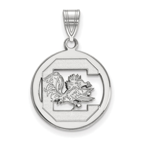 SS University of South Carolina Med Pendant in Circle