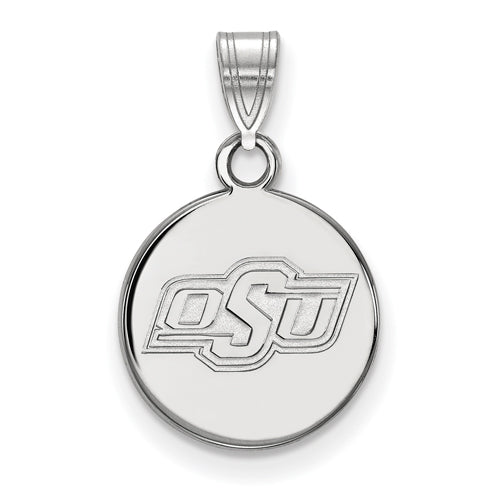 SS Oklahoma State University Small Disc Pendant